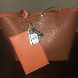 Ralph Lauren Reversible Tote Bag New